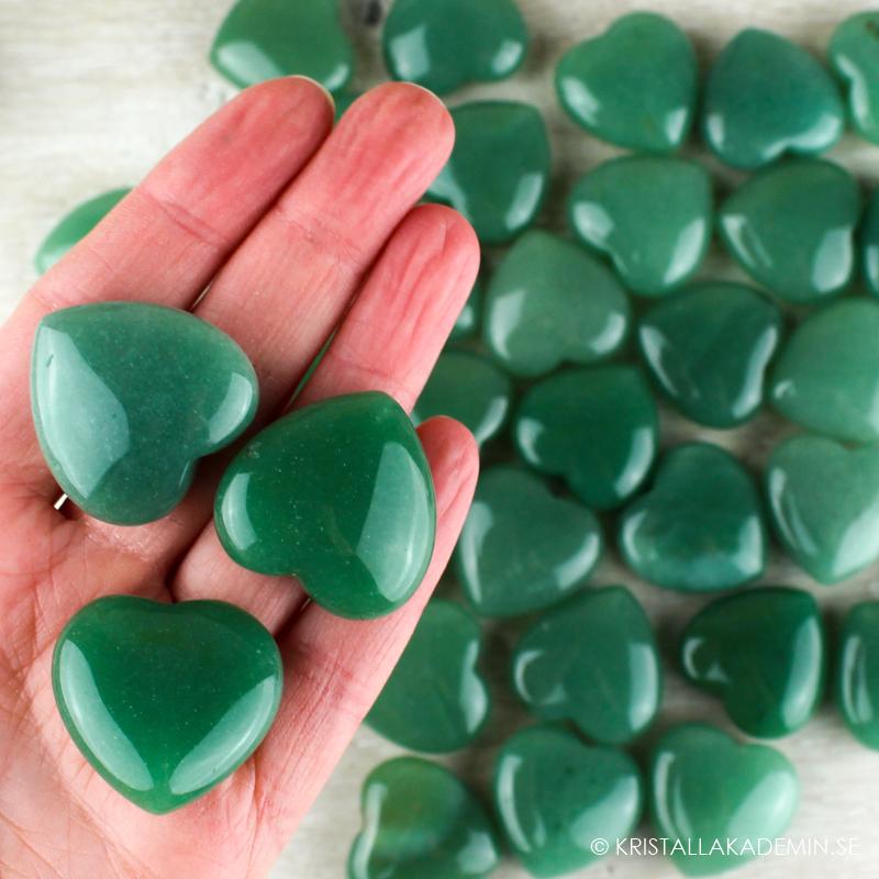 Grön Aventurin, hjärta