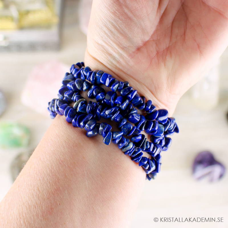 Lapis Lazuli, chipsarmband