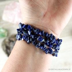 Armband, Sodalit chipsarmband