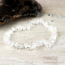 Bergkristall, chipsarmband