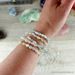 Beryll, armband 5-7 mm