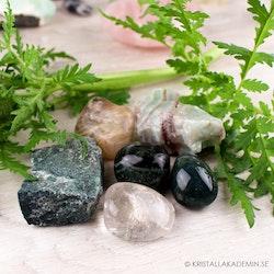 Kristaller för trädgård