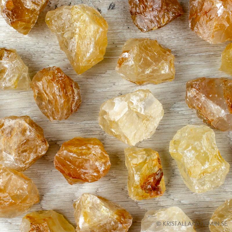 Golden Healer, rå stenar
