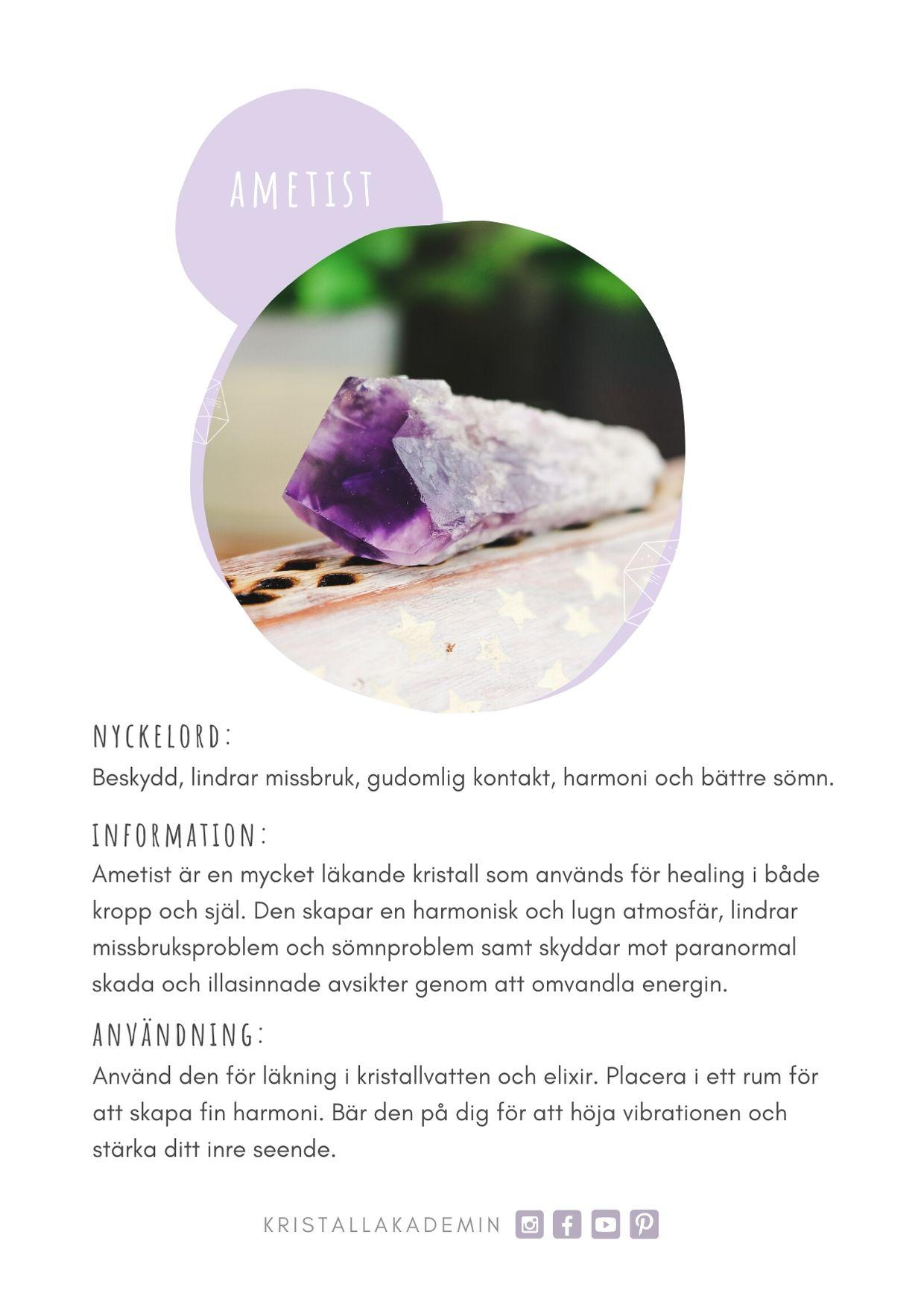 E-bok Kristallakademins Lilla Kristallguide