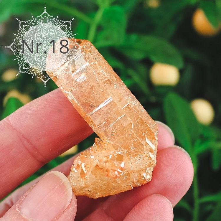 Tangerine Aura Kvartskluster
