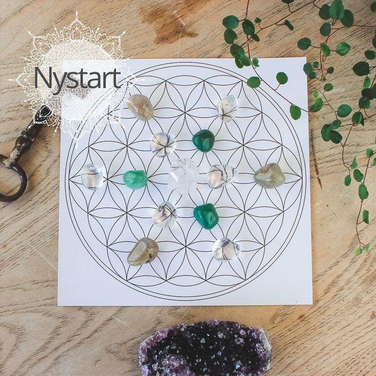 Kristaller för kristallnät