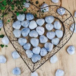 Blå Kalcit, hjärtan