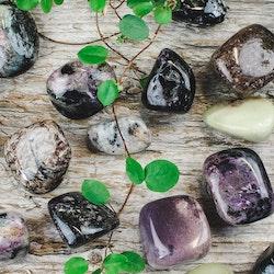 Charoit, trumlade stenar