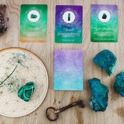 Orakelkort - Låt kristallerna vägleda dig