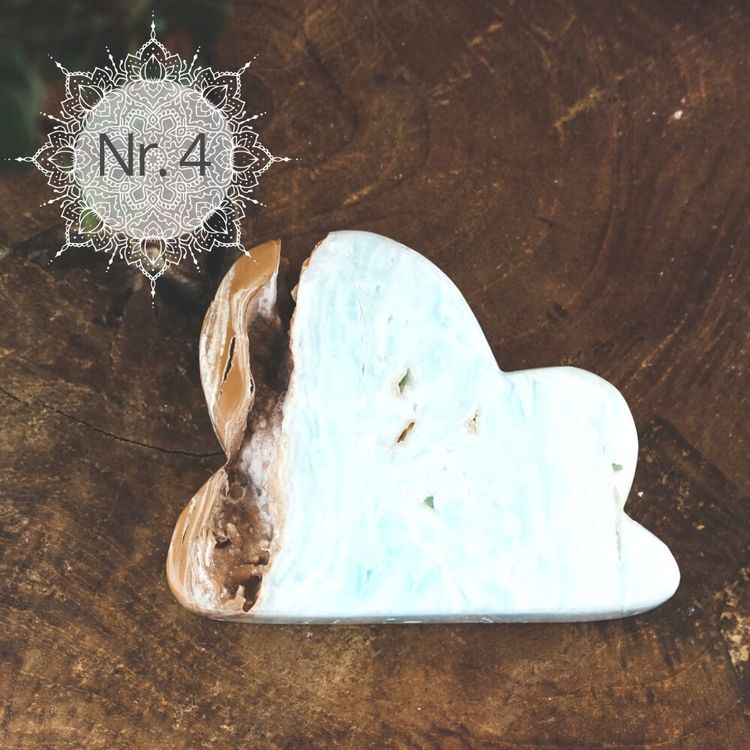 Caribbean blue kalcit, moln
