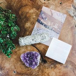 Kristallkit för att rena och ladda