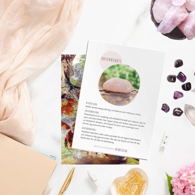 Rosenkvarts, infokort med egenskaper