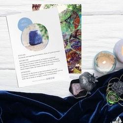 Lapis Lazuli, infokort med egenskaper