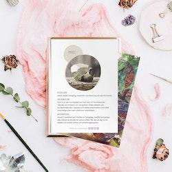 Pyrit, infokort med egenskaper