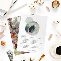 Mossagat, infokort med egenskaper