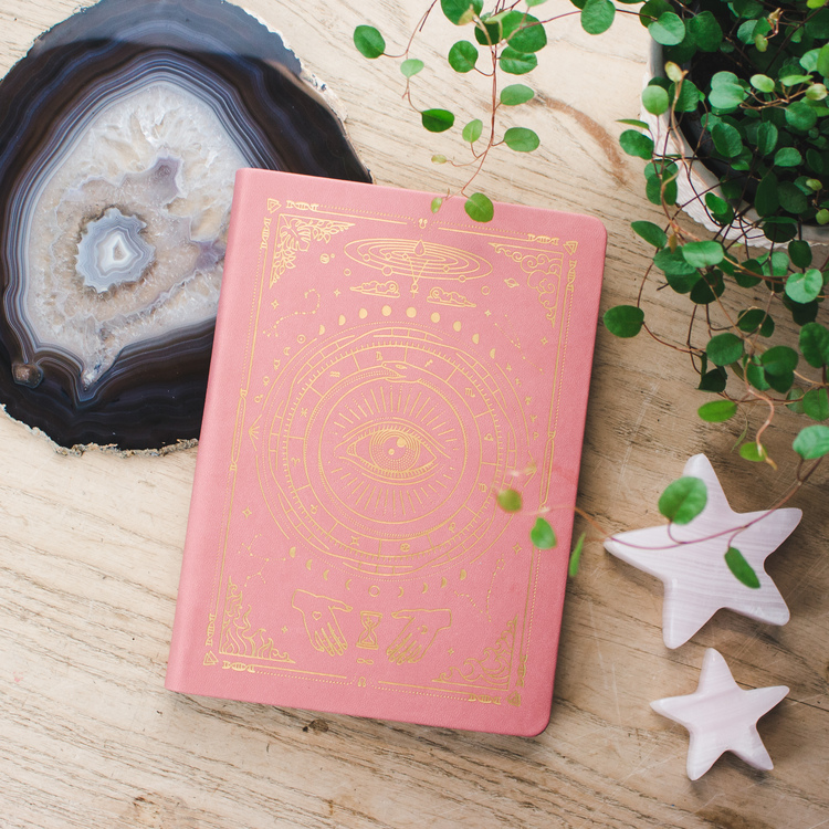 Magic Of I Journal, veganskt läder, linjerad A5