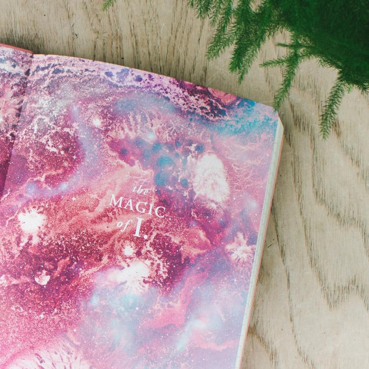 Magic Of I Journal, veganskt läder, olinjerad A5