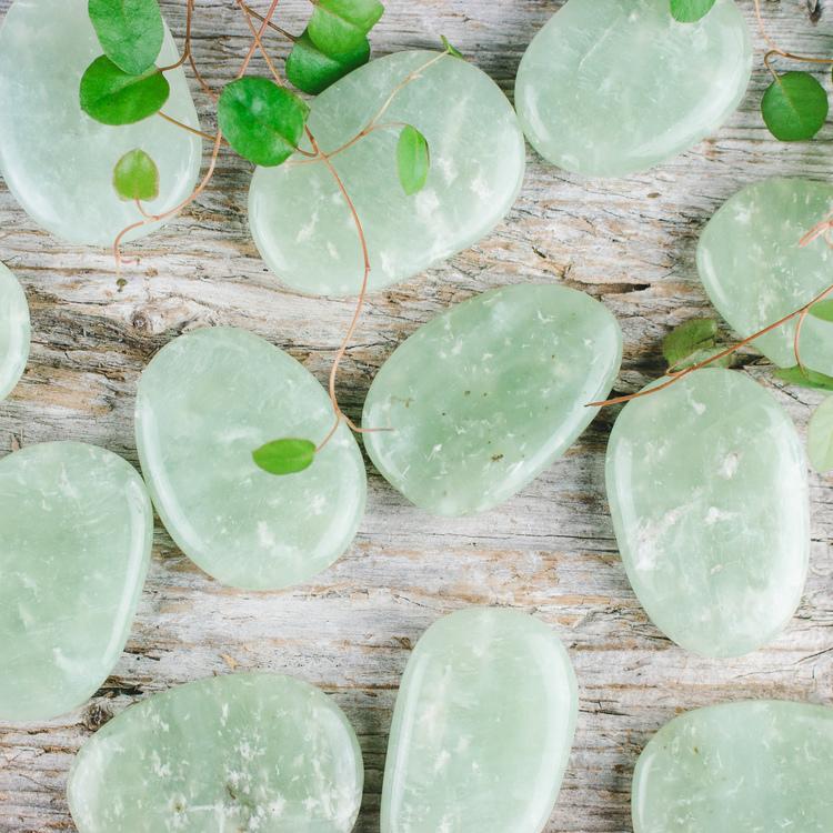 New Jade, platta stenar