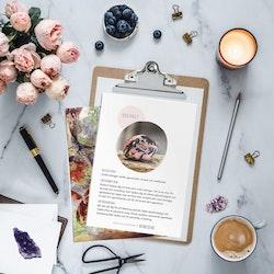 Rodonit, infokort med egenskaper