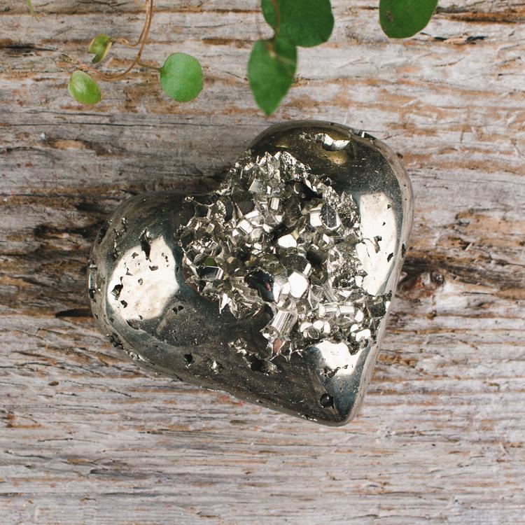 Pyrit, stora hjärtan