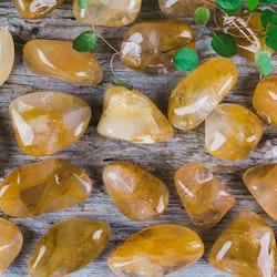 Golden Healer, polerade stenar