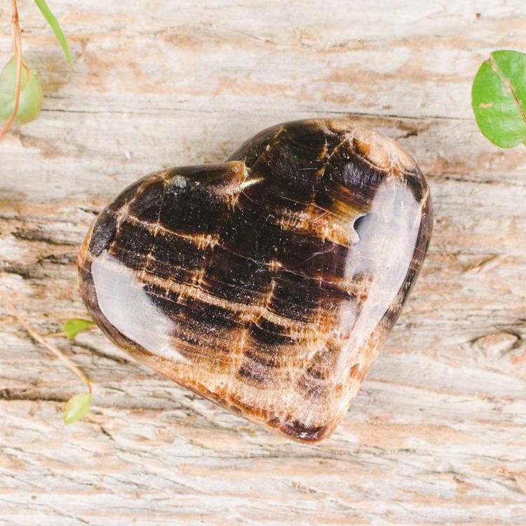 Chokladkalcit, hjärtan