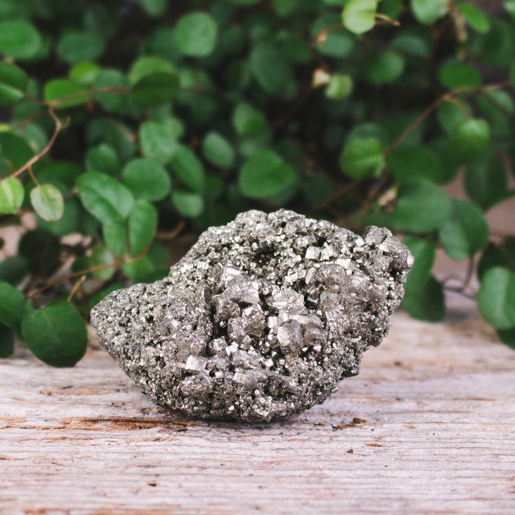 Pyrit, unika kluster