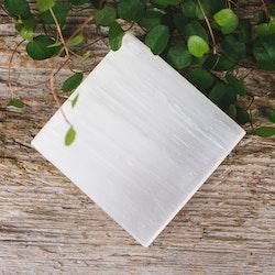 Selenit, kvadratisk platta