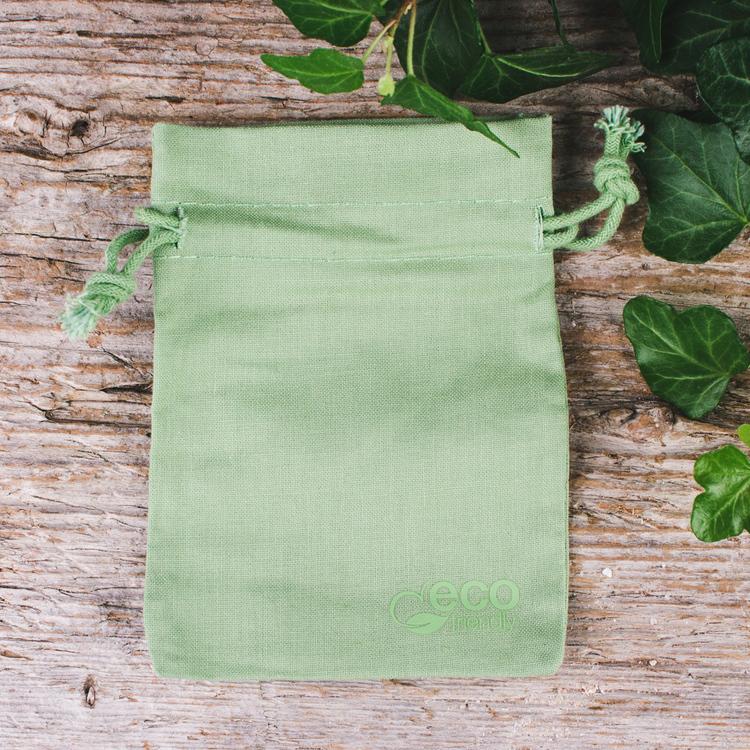 Bomullspåse eko, pistagegrön