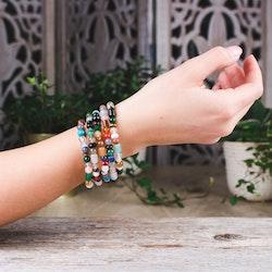 Armband, mix 5 mm