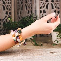 Armband, mix 10-15 mm