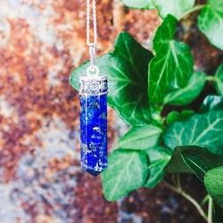 Lapis Lazuli, spetsformat hänge