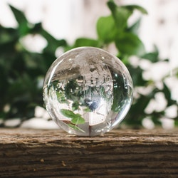 Bergkristall, klot