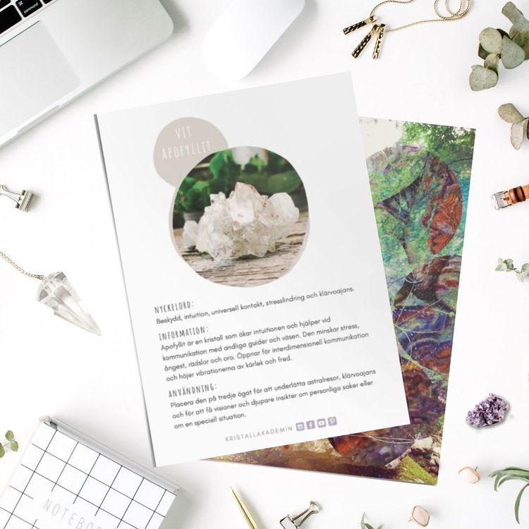 Apofyllit, infokort med egenskaper