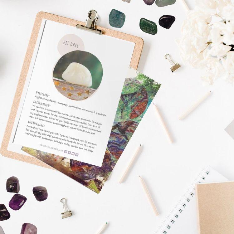 Vit Opal, infokort med egenskaper