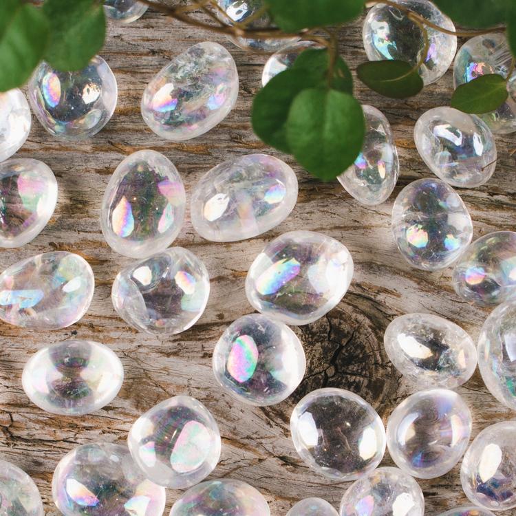 Opal Aura trumlade stenar