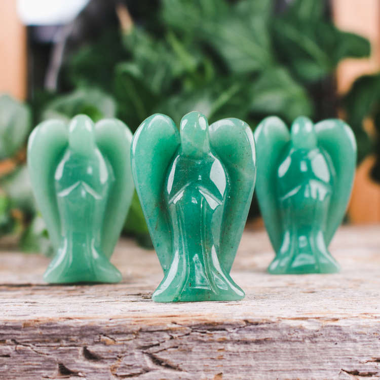 Grön Aventurin, ängel