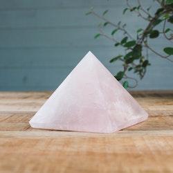 Rosenkvarts, pyramid