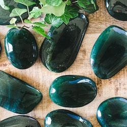 Grön jade, touchstone