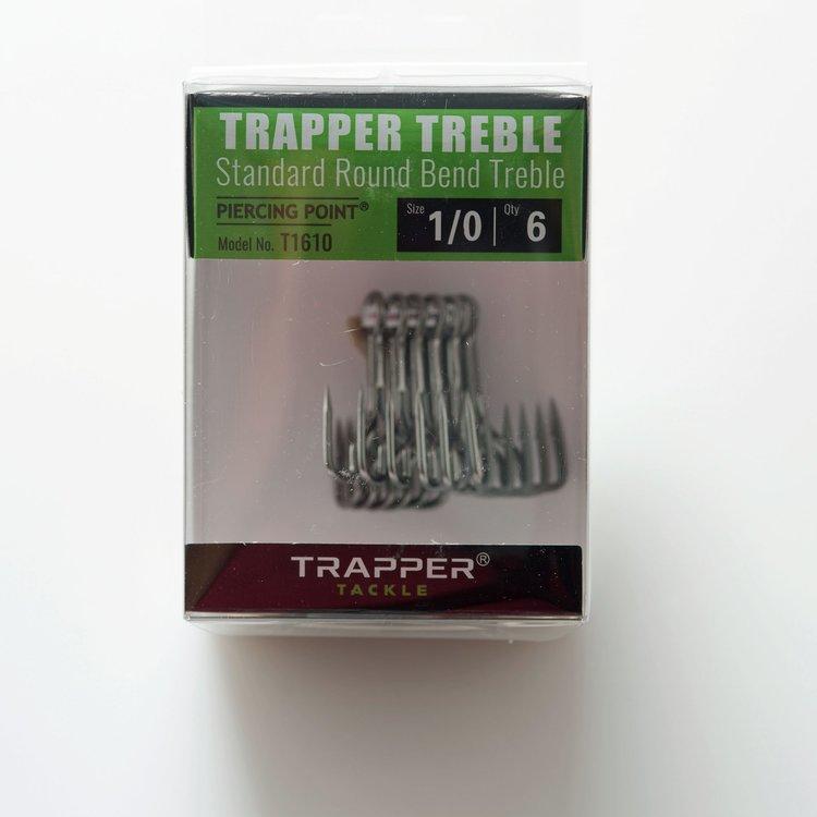 Trapper Hooks Standard Round Bend Treble