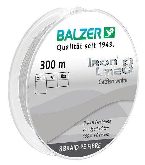 Iron Line 8 Catfish White 300M
