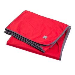 Filt 142x188 cm / röd