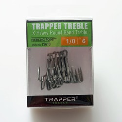 Trapper Hooks X Heavy Round Bend Treble
