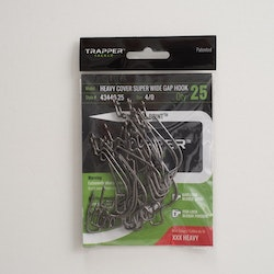 Trapper Hooks Heavy Cover Offset Super Wide Gap Hook