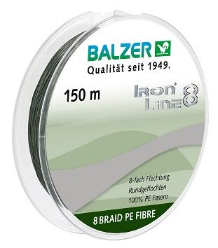 Iron Line 8 Spin Green 150M ( 1 förp. á 5 spolar )