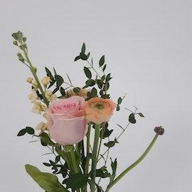 Bukett i säsongens blommor, Mini