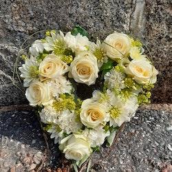 Blomster hjärta min kärlek, liten