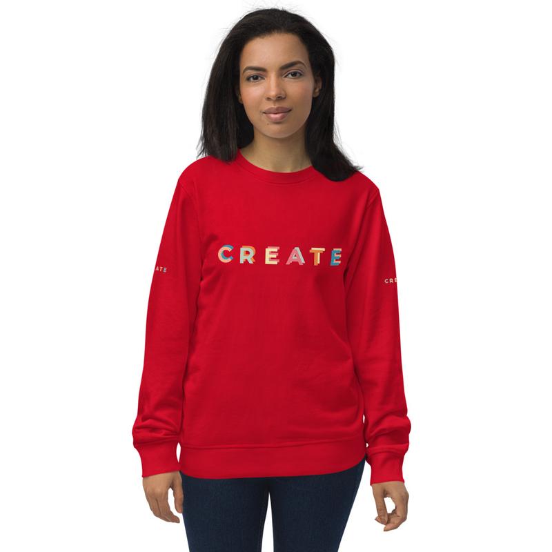 Dualeh crew Unisex organic sweatshirt