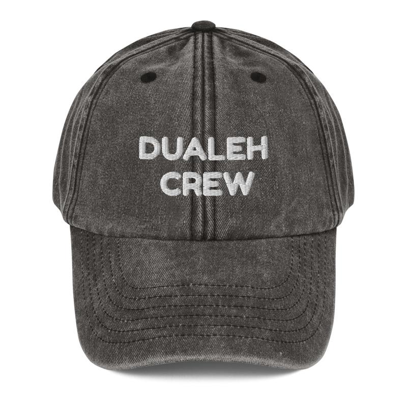Dualeh crew Vintage Hat