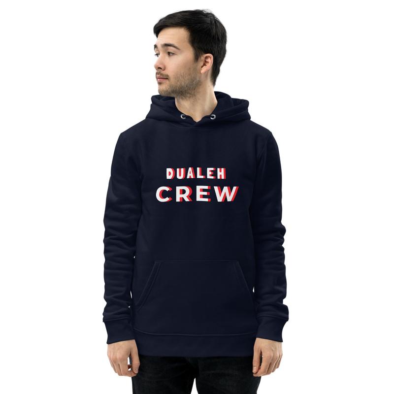 Dualeh Crew Unisex essential eco hoodie